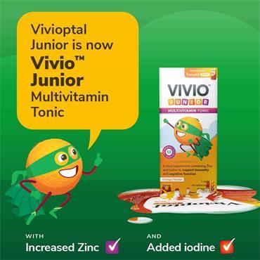 Vivio Junior Multivitamin Tonic 250ml