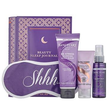 Sanctuary Spa Beauty Sleep Journal 4 Piece Giftset