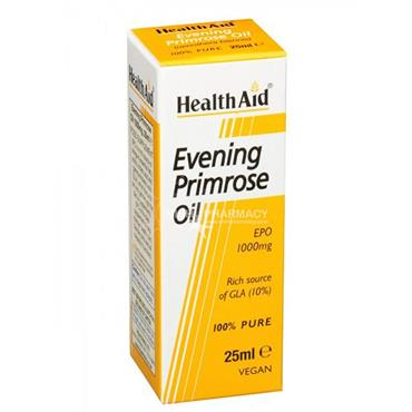 Health Aid Evening Primrose Oil 1000mg Drops 25ml
