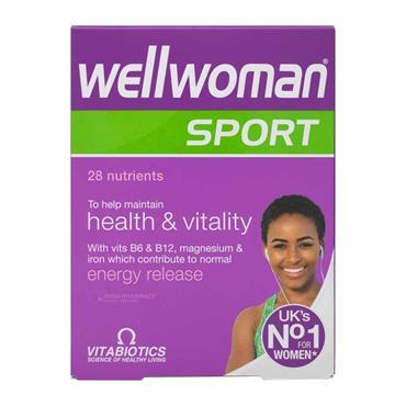 Vitabiotics Wellwoman Sport And Fitness 30 Pack