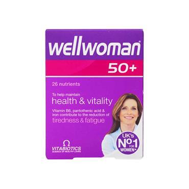 Vitabiotics Wellwoman 50+ 30 Pack