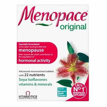 Vitabiotics Menopace Original 30 Pack