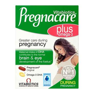 Vitabiotics Pregnacare Plus Omega-3 56 Pack