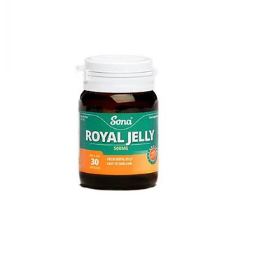 Sona Royal Jelly 30 Capsules