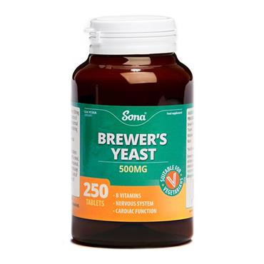 Sona 500mg Brewers Yeast 250 Tablets