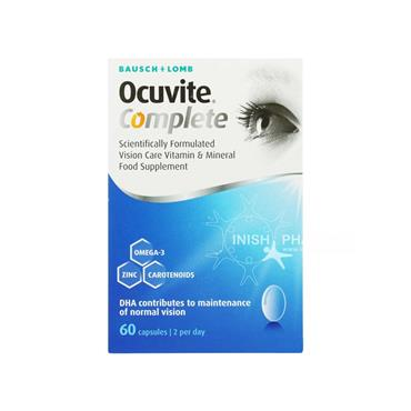 Ocuvite Complete Softgels 60 pack