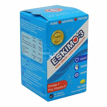 Eskimo-3 Omega-3 With Vitamin E Capsules 250 Pack