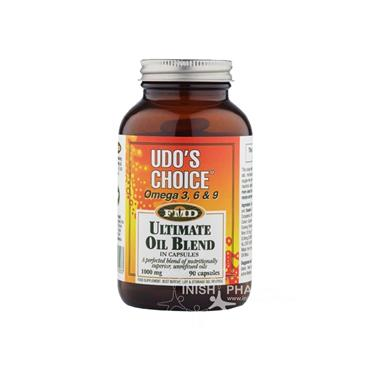 Udos Choice Omega 3 6 & 9 1000mg Ultimate Oil Blend 90 Pack