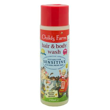 Childs Farm Hair & Body Wash 250ml