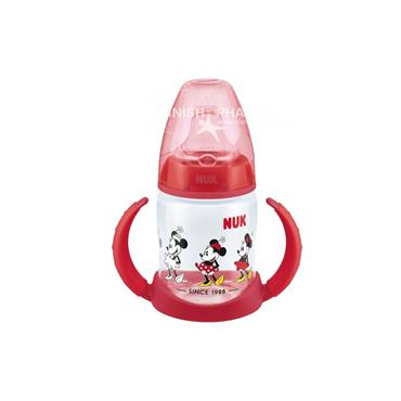 NUK Disney Mickey Learner Bottle Red 6-18m 150ml