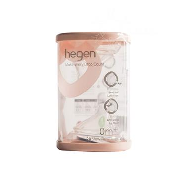Hegen Teat Slow Flow 2 Pack