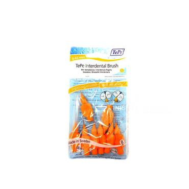 TePe Orange Interdental Brush 0.45mm 8 Pieces