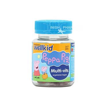 Vitabiotics Wellkid Peppa Pig Multivit 30 Pack