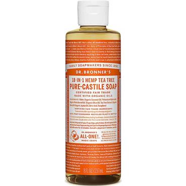 Dr Bronner's Tea Tree Liquid Soap 237ml