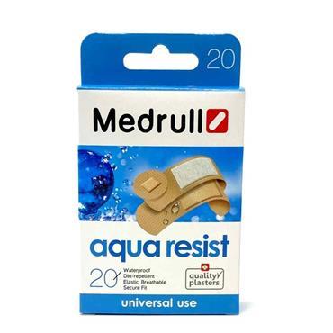 Medrull Aqua Resist Waterproof Plasters 20 Pack