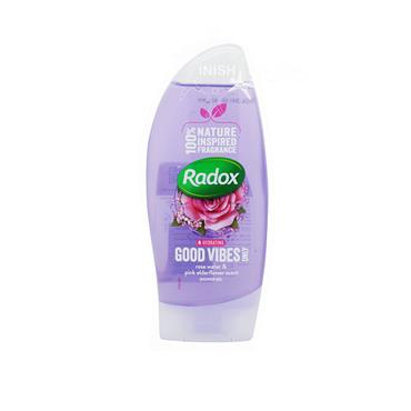 Radox Good Vibes Rosewater &  Pink Elderflower Shower Gel 250ml