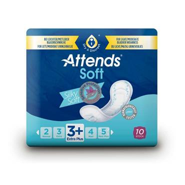 Attends Soft Pads 3 Extra Plus - 10 Pack