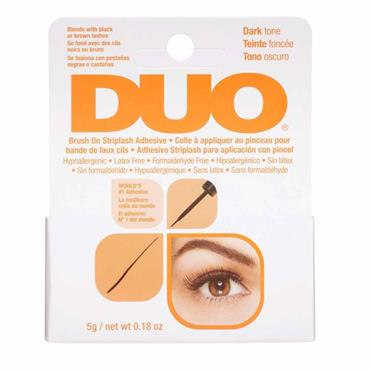 Duo Brush On Striplash Adhesive Dark 5g