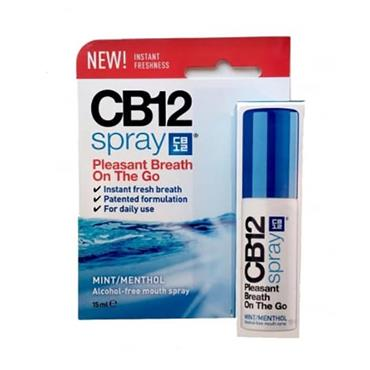 CB12 Mouth Spray Mint Menthol 15ml