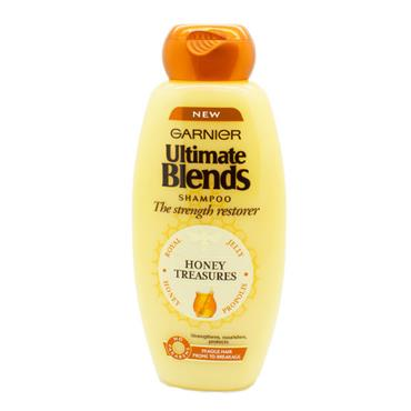 Garnier Ultimate Blends Honey Treasures Shampoo Fragile Hair 400ml