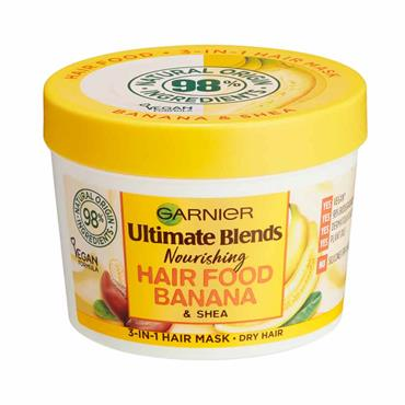 Garnier Ultimate Blends Nourishing Hair Food Banana & Shea 390ml