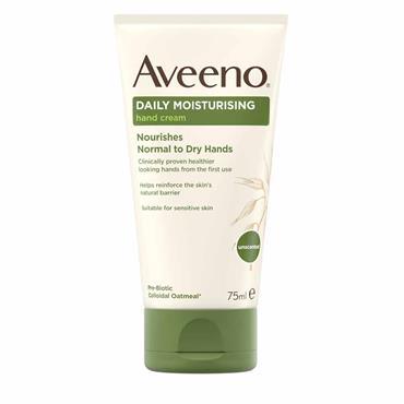 Aveeno Hand Cream with Oatmeal 75ml