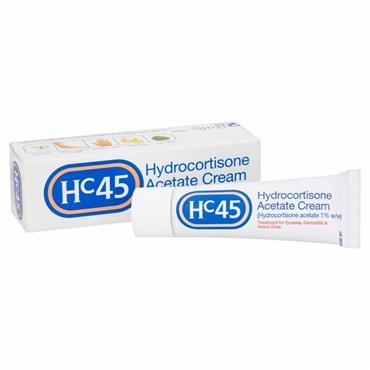 HC45 Hydrocortisone Cream 1% 15g