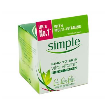Simple Kind To Skin Vital Vitamin Night Cream 50ml
