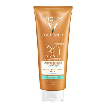 Vichy Capital Soleil Fresh Protective Milk SPF30 300ml