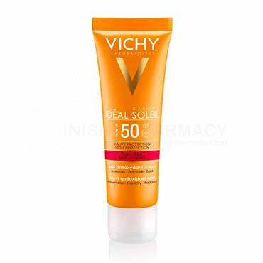 Vichy Ideal Soleil Anti-Ageing 3-in-1 Daily Antioxidant Cream 50ml