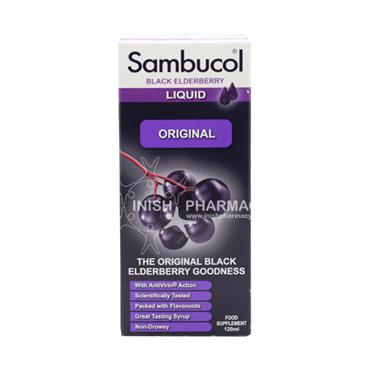 Sambucol Black Elderberry Liquid Original 120ml