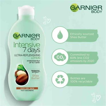 Garnier Body Intensive 7 Days Lotion Shea Butter 400ml