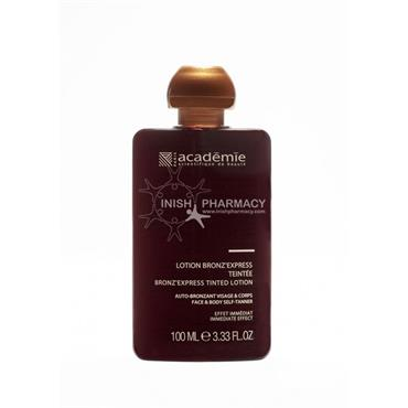 Bronz Express Face and Body Self Tanning Lotion 100ml