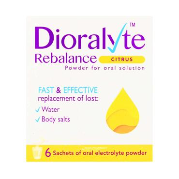 Dioralyte Citrus 6 Pack