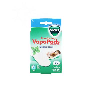 Vicks Comforting VapoPads Refill Menthol Scent Pads 7 Pack