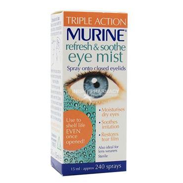 Murine Refresh & Soothe Eye Mist 15ml