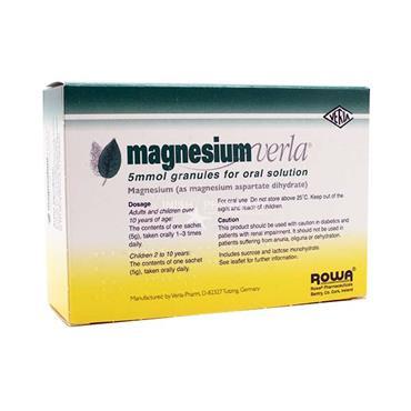 Magnesium Verla Granules 20 Pack