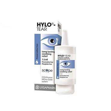 Hylo-Tear Eye Drops Preservative Free 7.5ml