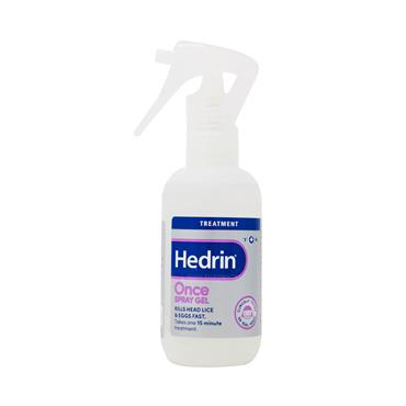 Hedrin Once Head Lice Spray Gel 100ml