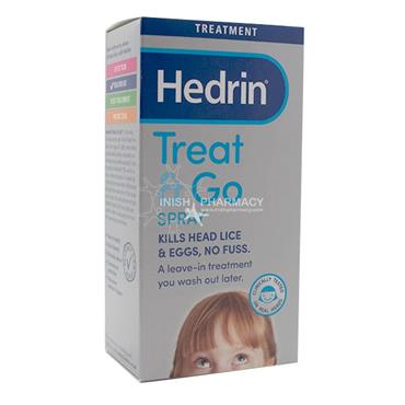 Hedrin Treat & Go Fuss Free Head Lice Spray 60ml