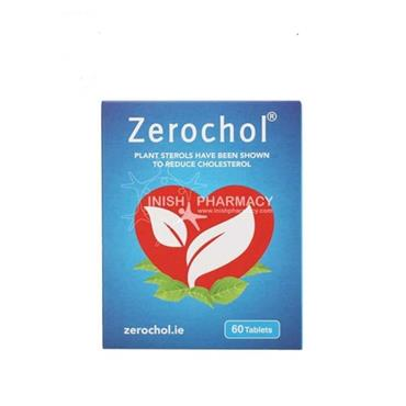 Zerochol Plant Sterols to Reduce Cholesterol 60 Tablets