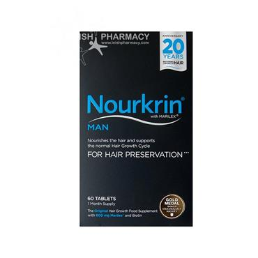 Nourkrin Man Hair Preservation Program 60 Tablets