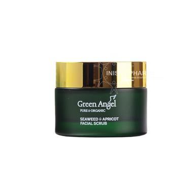 Green Angel Seaweed & Apricot Facial Scrub 50ml