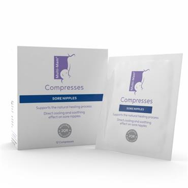 Multi-Mam Compresses - Intensive Nipple Treatment for Breastfeeding Mothers 12 Compresses