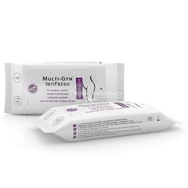 Multi-Gyn IntiFresh Wipes 12 Pack