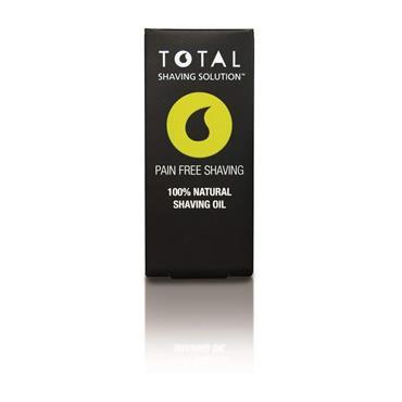 Total Shaving Solution Pain Free Shaving 100% Natural Shaving Oil 10ml