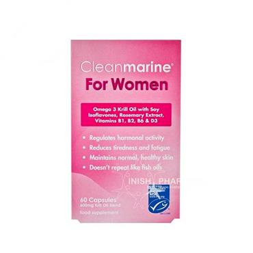 Cleanmarine Krill Oil for Women 60 Capsules