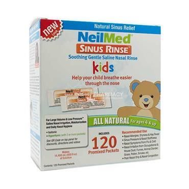 NeilMed Paediatric Kit 120 Sachets