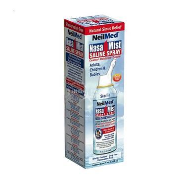 NeilMed NasaMist Isotonic - 75ml Isotonic Spray