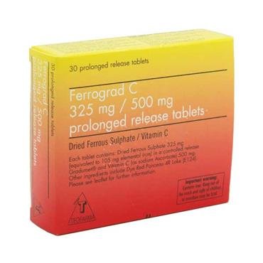 Ferrograd C Prolonged Release 30 Tablets